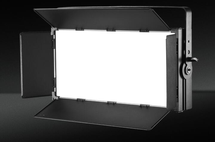 What are the components of led video panel light?