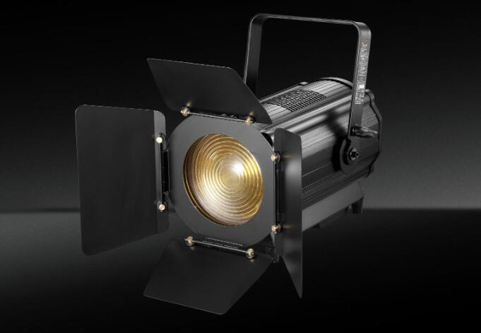 How to control led fresnel spotlight?