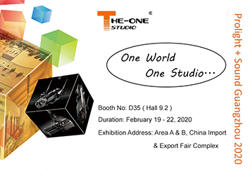 Invitation For Prolight + Sound Guangzhou 2020