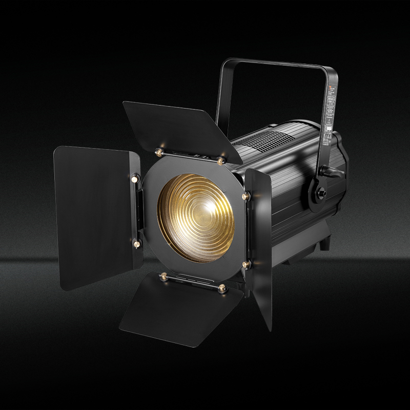 TH-352 600w Bi-color LED Fresnel Spotlight Theater with Manual Zoom